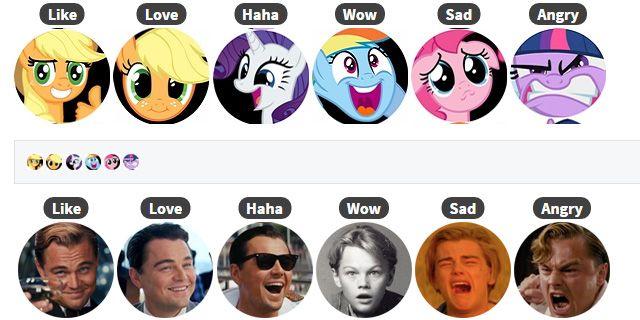 Le reaction di Facebook di Pikachu, Sailor Moon e Totoro con Reaction Packs - Sw Tweens