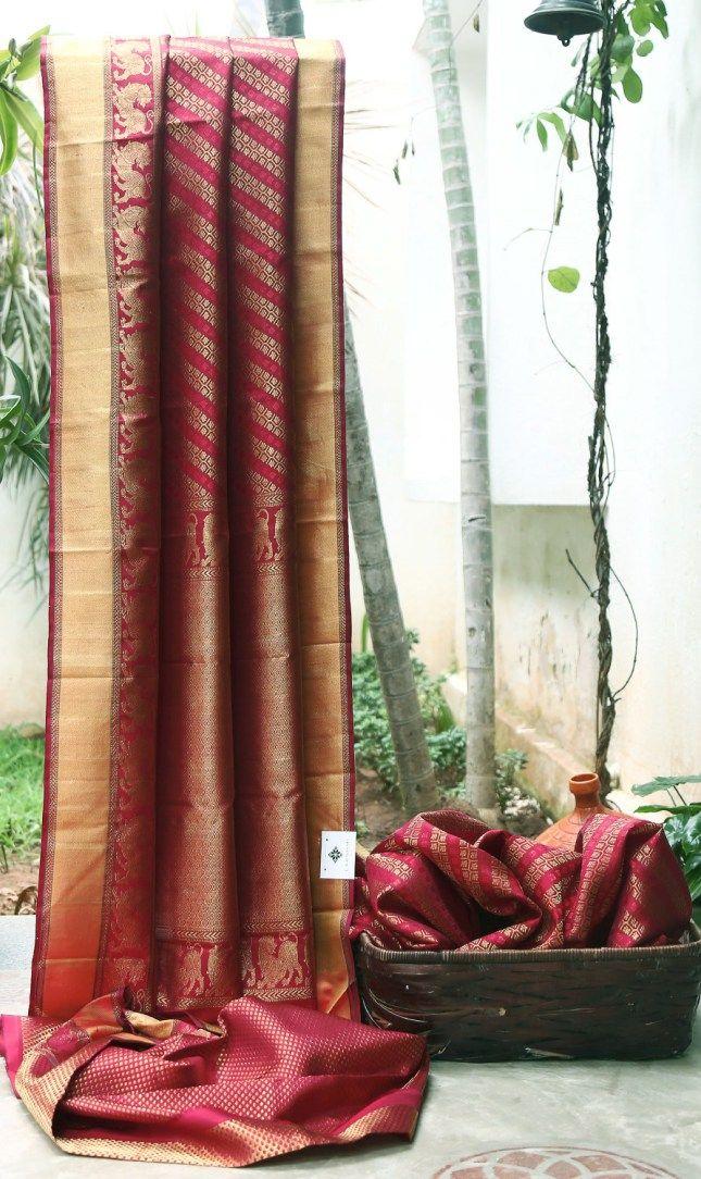 KANCHIVARAM SILK L03721 | Lakshmi
