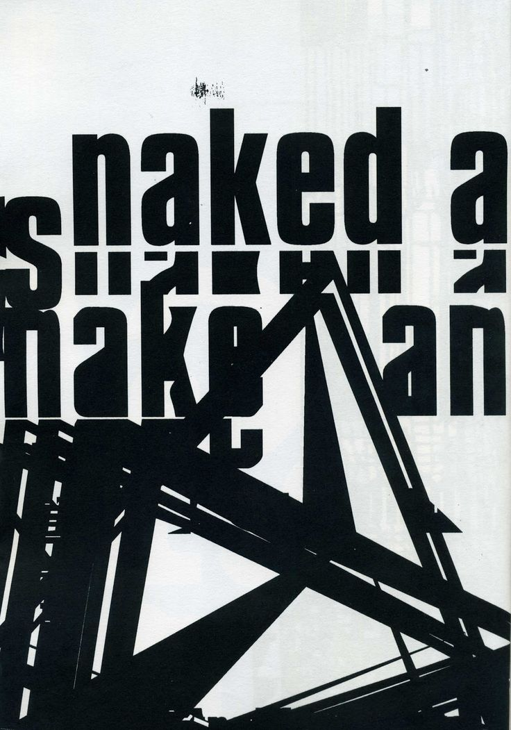 """From """"Mmm ...Skyscraper I Love You: A Typographic Journal of New York"""", a book created by Tomato's Karl Hyde and John Warwicker (also of Underworld band) in 1999."""