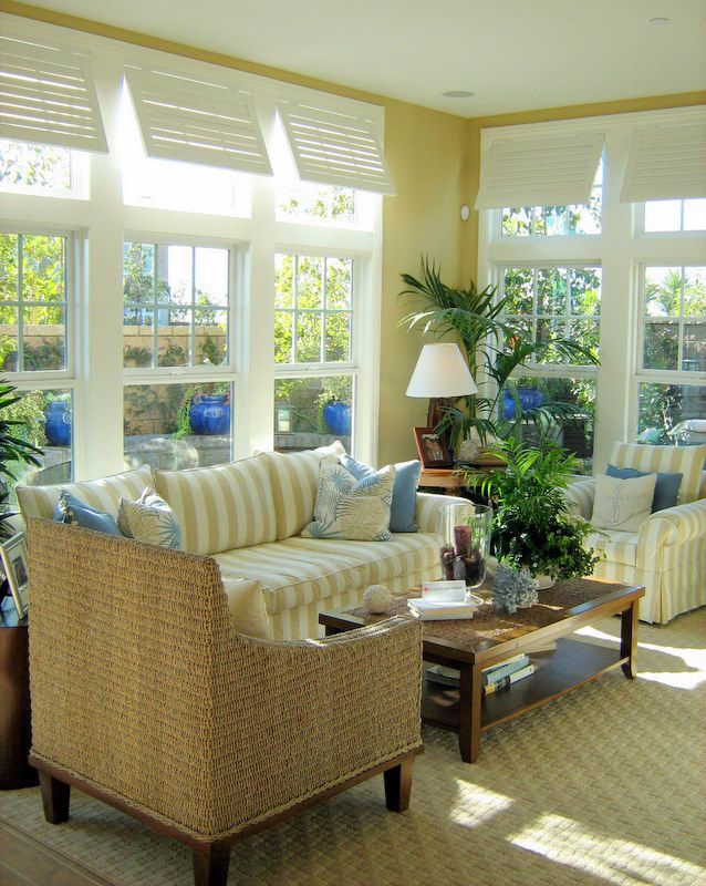 Perfect look for my new sunroom!