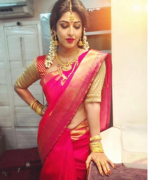 Sonarika Bhadoria's Tamil bride look will make you go weak in the knees! | PINKVILLA