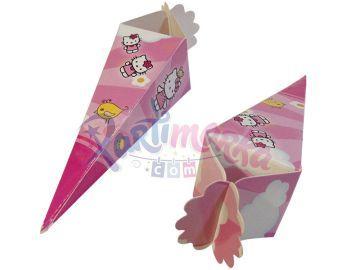 Hello Kitty Doğum Günü Şeker Külahları