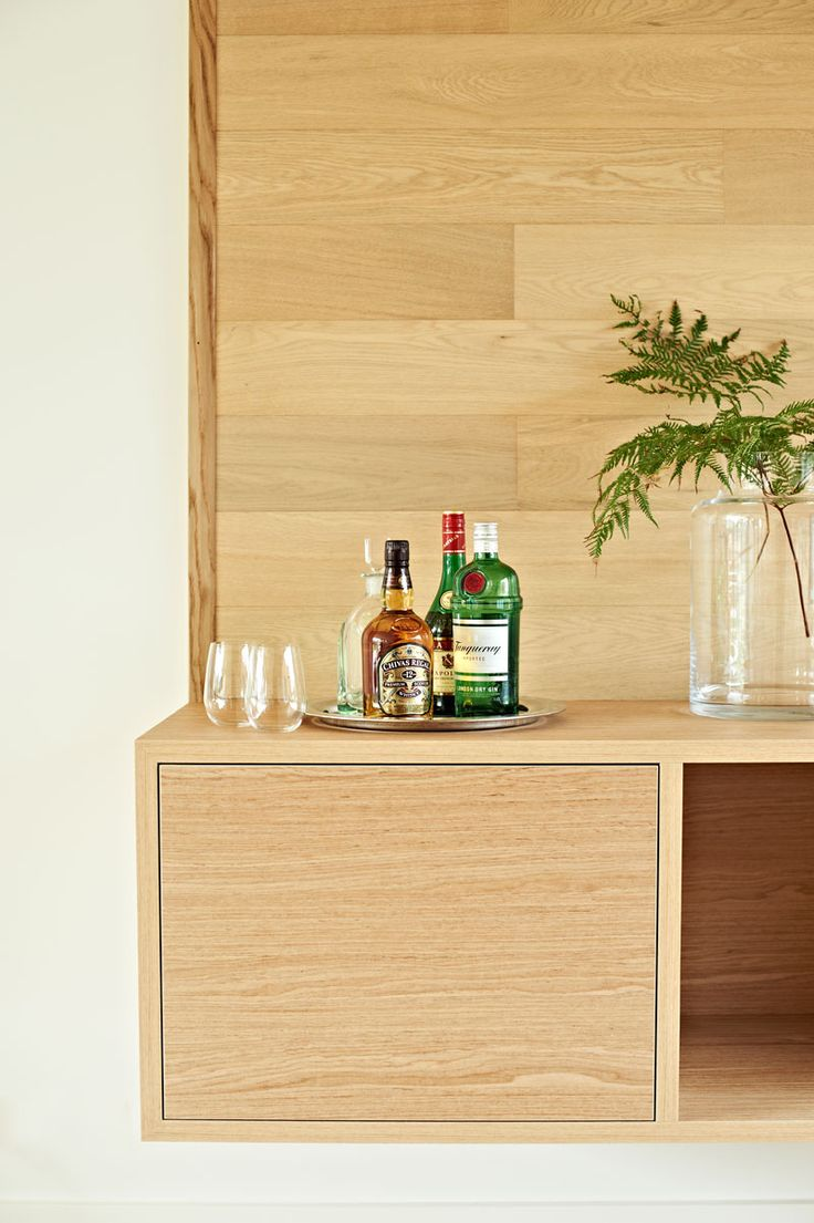 A warm, vibrant joinery unit featuring Navlam Sandblasted™ Oak.