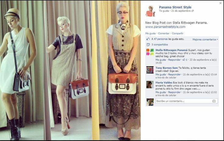 Ideas de outfits para tu satchel Stella Rittwagen by Debbie K, blogger de moda y mucho estilo!