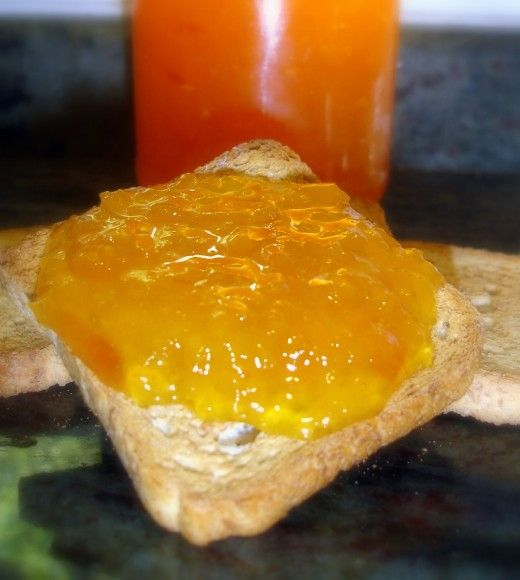 Mermelada de melocotón, muy buena y fácil de hacer en casa - El Aderezo - Blog de Recetas de Cocina