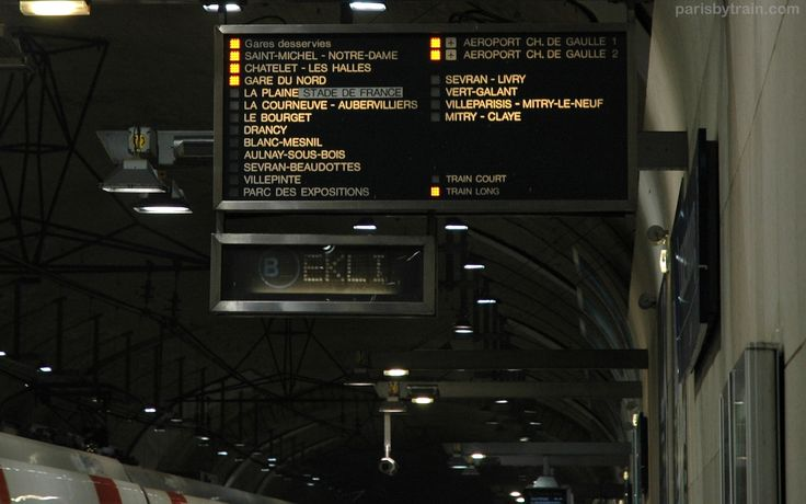 This article explains how to travel from Central Paris to CDG Airport by city train (RER B).