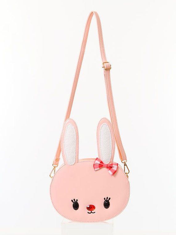 sweet lolita bag / Kawaii  Bunny Bag / rabbit bag by kawaiishop777