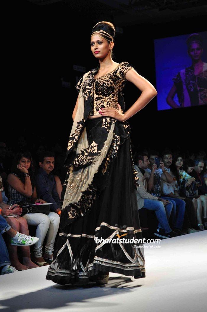 Krishna Mehta Show at Lakme Fashion Week Winter/Festive 2012