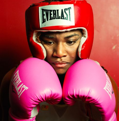 Olympic Boxer Claressa Shields first American woman to win a boxing gold medal at the Olympics
