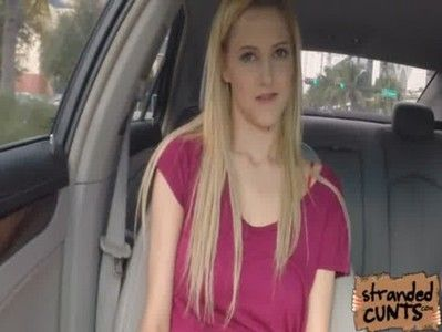 blonde Mila Evans in the car | xxclipsvideos.com | Hot ...