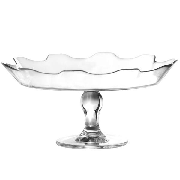 Ravenhead 24cm Entertain Glass Cake Plate £9.99