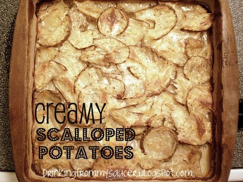 Betty Crocker Vintage Scalloped Potatoes