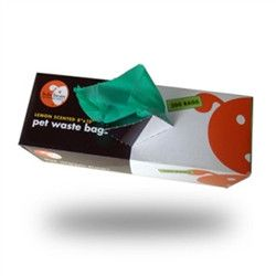 "Large Biodegradable Waste Pick-Up Bags 8""x13"""