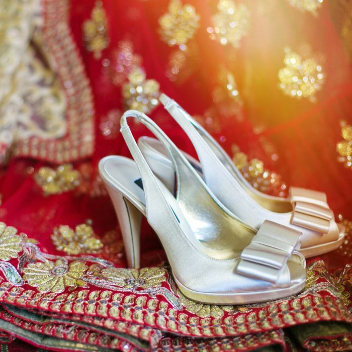 Bridal shoes need to be a perfect match, with respect to color and style, for the wedding dress of the bride. This accessory helps the bride in getting the perfect look on her most special day.