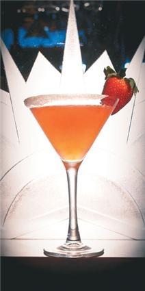 Strawberry Martini - Yum!