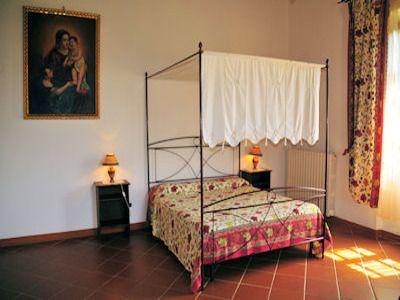 casa vacanza con piscina in Bibbiena, Toscana - Camera da letto