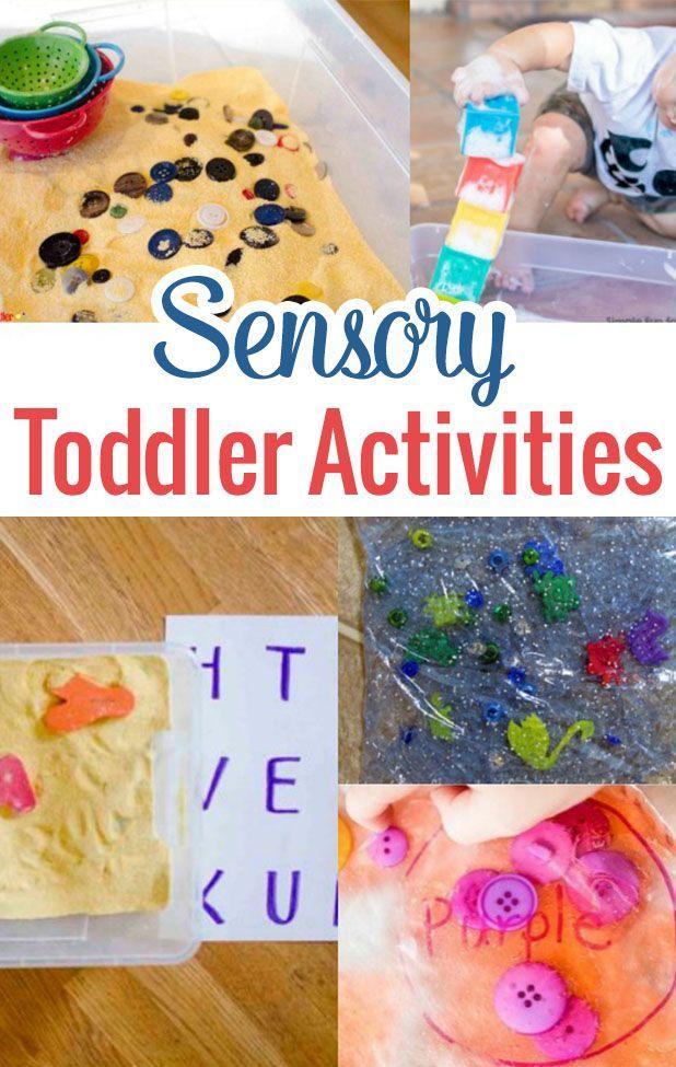 Sensory Toddler Activities