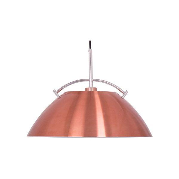 Een koperkleurige hanglamp uit de serie Whistler van het merk Steinhauer. E27 fitting 1*60 watt. Geschikt voor LED lampen, spaarlampen en gloeilampen. Hanglamp / barlamp is in hoogte instelbaar tijdens montage aan plafond.