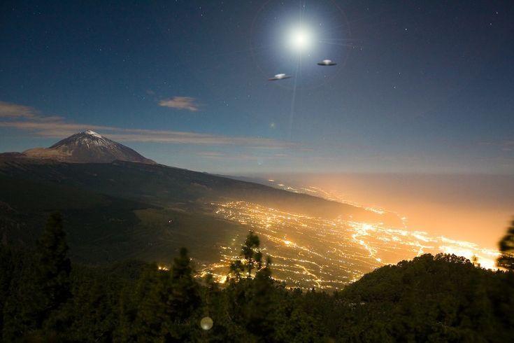 Tenerife UFO's - Tenerife weather in December