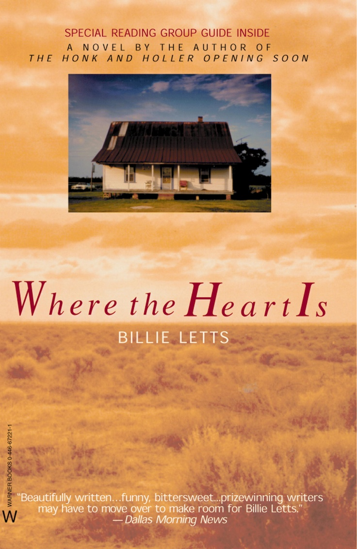 How would you describe Thelma in Billie Letts' Where The Heart Is?