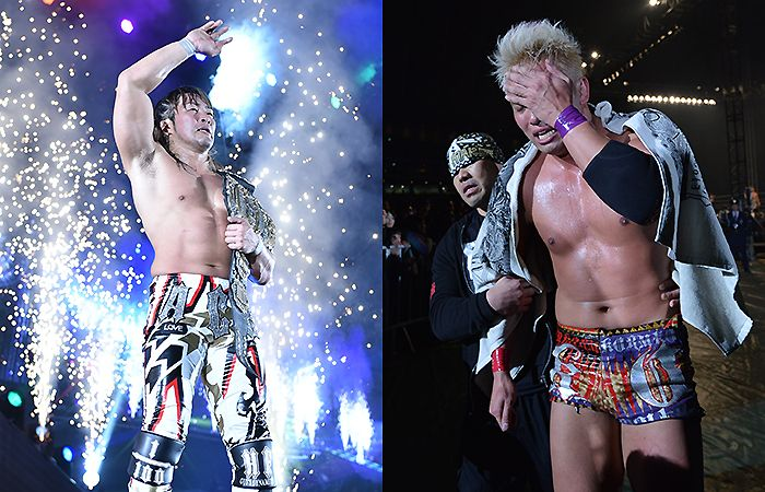 Triumph and Tears at the end of a memorable Wrestle Kingdom 9