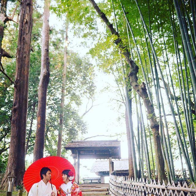 .  【ロケーションフォト】  芝前門をバックに  竹林に囲まれる中お2人らしい撮影に‥♪ #フェアブルーム#フェアブルーム水戸 #フェアブルーム水戸アメイジングステージ#fairbloom #全国の花嫁と繋がりたい #結婚準備 #結婚 #入籍 #式場探し #プロポーズ #入籍#前撮り #花嫁 #ウエディングドレス #ウエディングアイディア #ウエディングアイテム #fiorebianca #フィオーレビアンカ#茨城 #水戸#和装#偕楽園#ロケーションフォト#ロケ前撮り#前撮り#フォト#フォトジェニック#ウェルカムボード#竹林