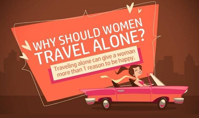 Traveling alone can lend a sense of self and independence. Here are more reasons why you should travel yourself & how to do it safely.