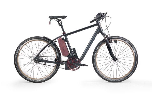 Spiked Oger Racer Edition, custom E-bike with Brose midship engine and beltdrive