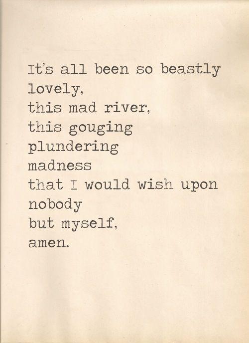 so beastly lovely | Bukowski
