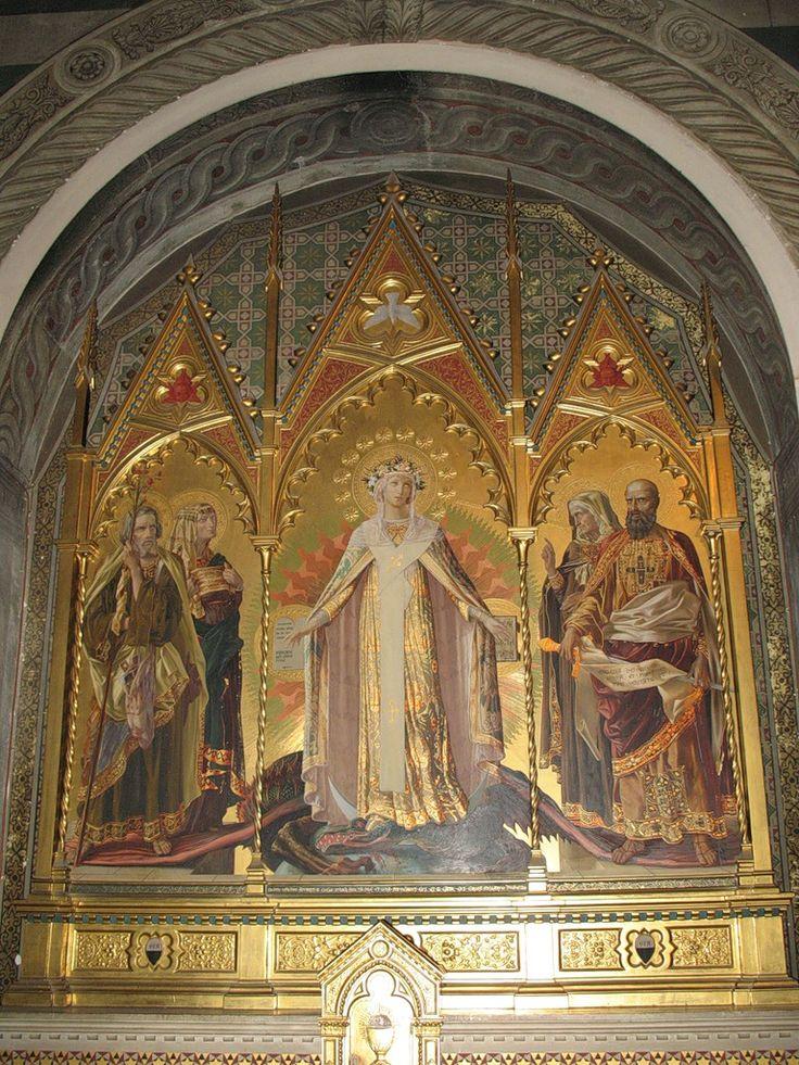 Икона в Баптистерии Сиены.