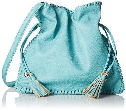 BIG BUDDHA Mae Shoulder Bag in Aqua - http://www.bagyou.net/big-buddha-bags/big-buddha-mae-shoulder-bag-in-aqua/