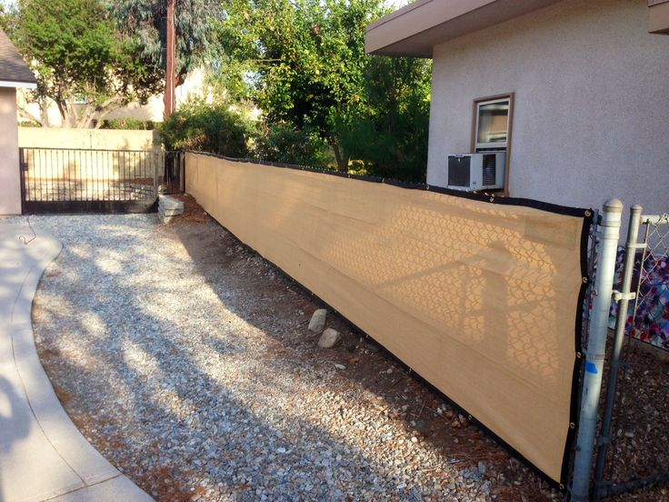 28 best images about fence screen on pinterest strength for Cloth privacy screen