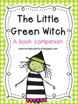 $4 The Little Green Witch