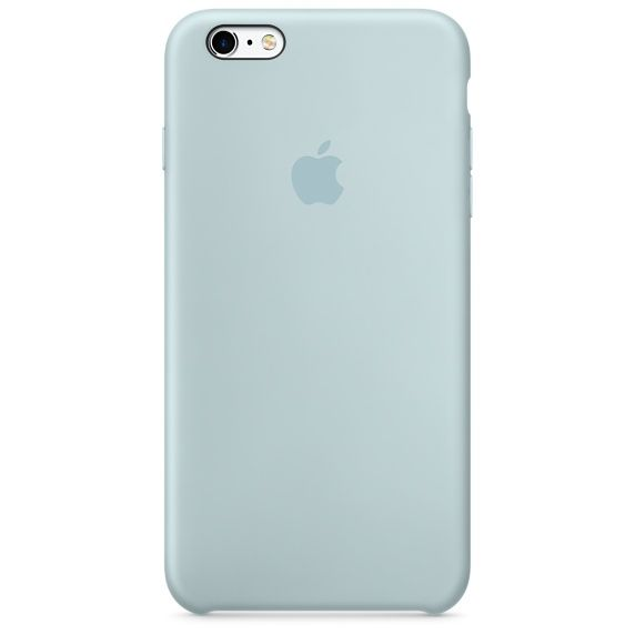 The iPhone 6s Silicone Case in Turquoise protects and fits snugly over the buttons and curves of your iPhone, without adding bulk.