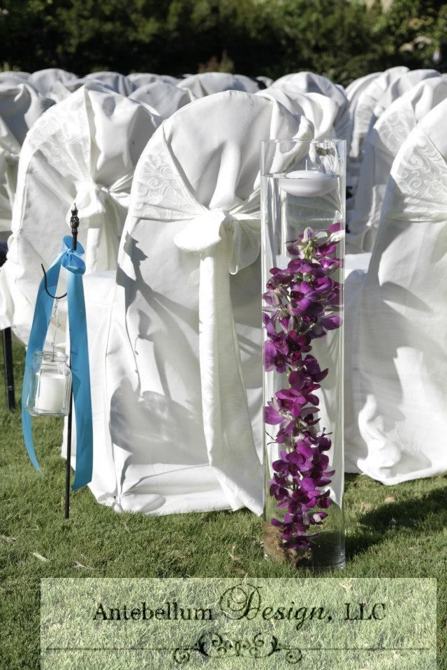 Aisle Decorations By Dallas Wedding Florist More