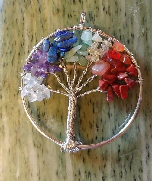 Tree of Life pendant. So pretty.