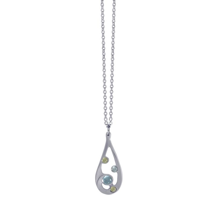 Water Pendant - Share your water traits - be sensitive, romantic and determined.