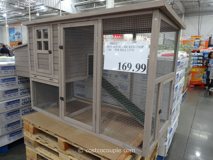 Pro Concepts Hen House Chicken Coop Costco