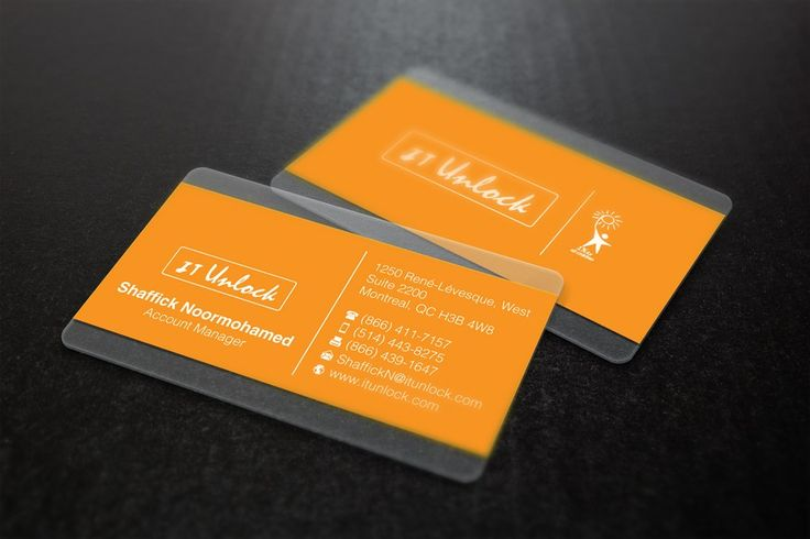business card it unlock by bong kreation