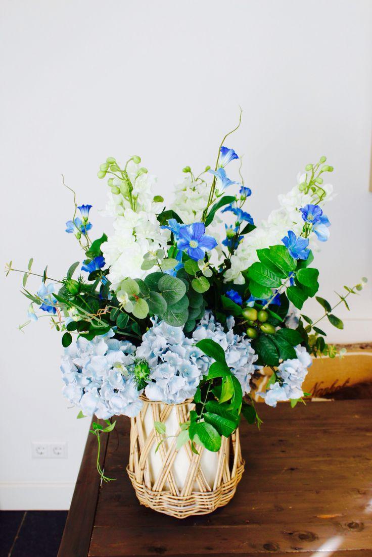 Www.annefleurs.nl  Zijden bloemen, zijdebloemen, landelijk, veldboeket, Flowers,