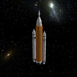 This is the Space Launch System or SLS Orion. This is the Block 1 model and will be used for the launch of Exploration Mission 1. This set has a total of 2509 bricks! This set also has detachable side boosters. The rocket only has 2 stages. It is 43 1/2 inches. I hope this model can be a set like the new Lego Saturn V and join the Lego NASA Rocket family. Thank you for your support!