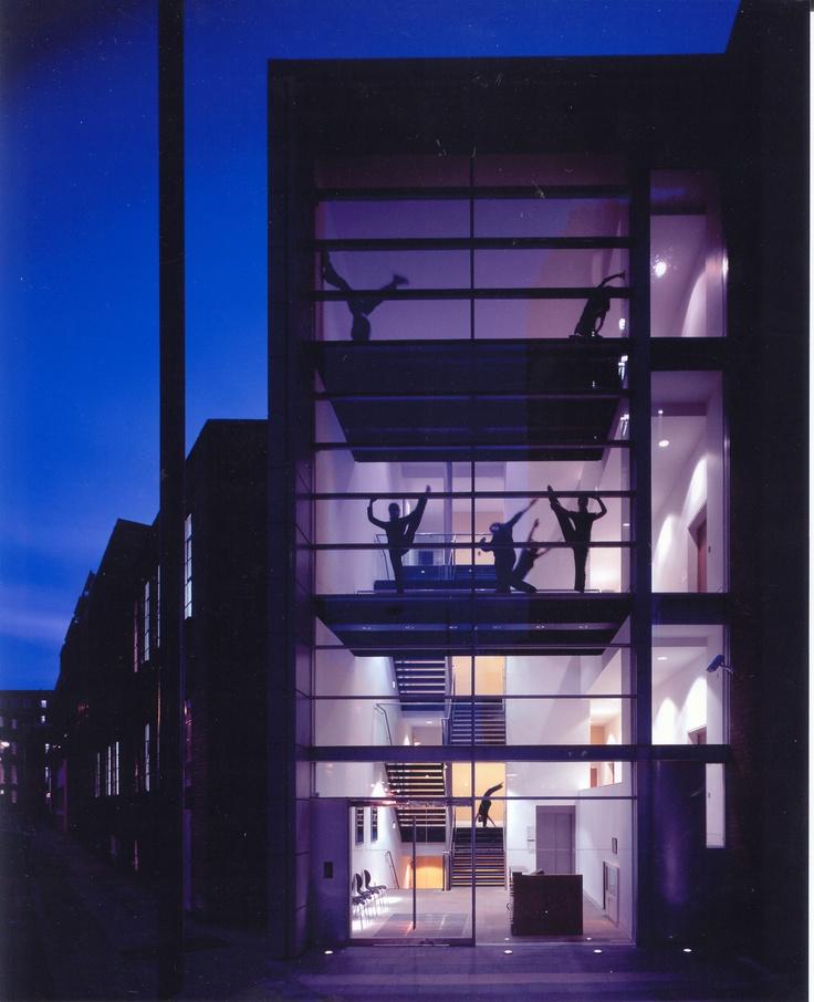 Dancers at Flaxman Terrace    #dance #photography #architecture #london