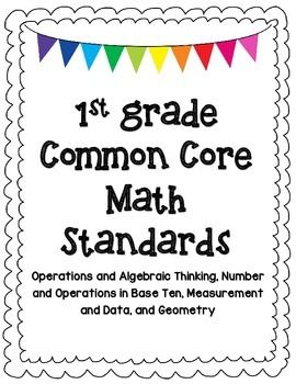 42 best Common Core- 1st & 2nd Grade images on Pinterest