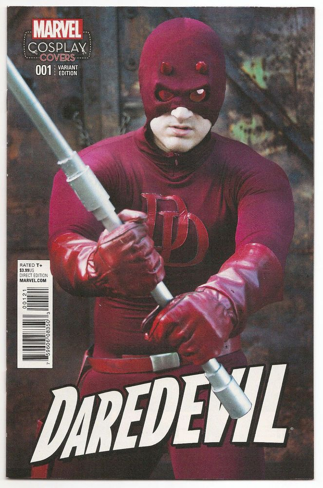 Daredevil #1 Cosplay Rick Lance Variant Cover Charles Soule  HOT  MINT