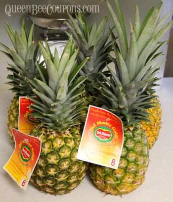 How to freeze pineapple - Buy it when it's on sale, freeze for later! – Queen Bee Coupons