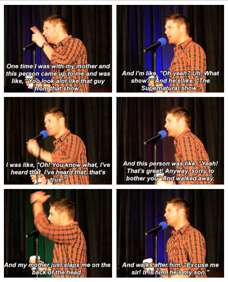 Awww that's so cute. Mrs. Ackles don't put up with nothin #SanFran2015 GIFset