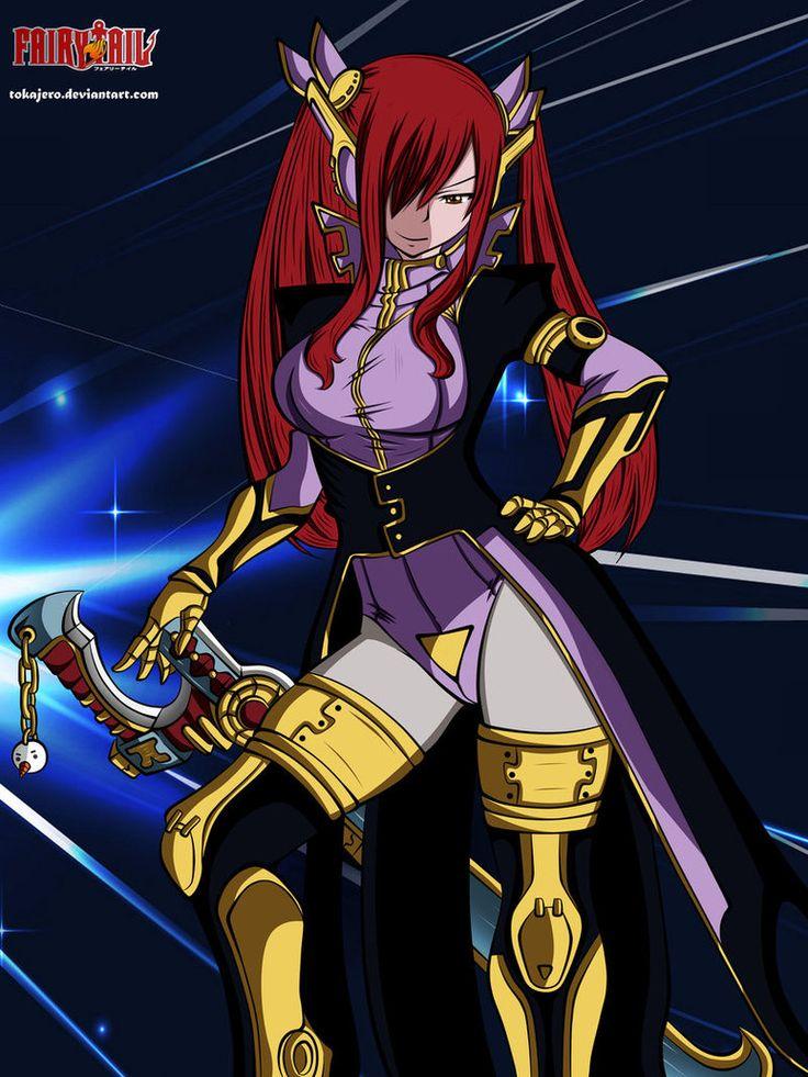 space erza armor | Irza Scarlett | Pinterest | Scarlet ...