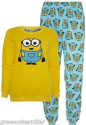 Minions Primark PYJAMAS Despicable Me Ladies Women SUPERSOFT PJ SET Sizes 6-20