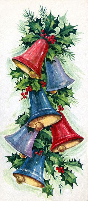 Christmas bells and holly...