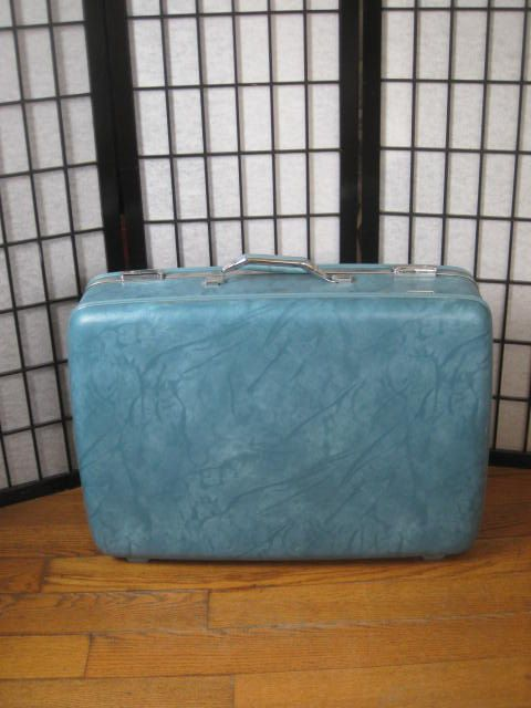 Vintage 1960s 1970s American Tourister Large Suitcase by girlgal6, $39.00
